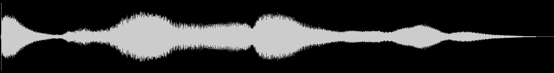 ベルヒットアンドライズ2の未再生の波形