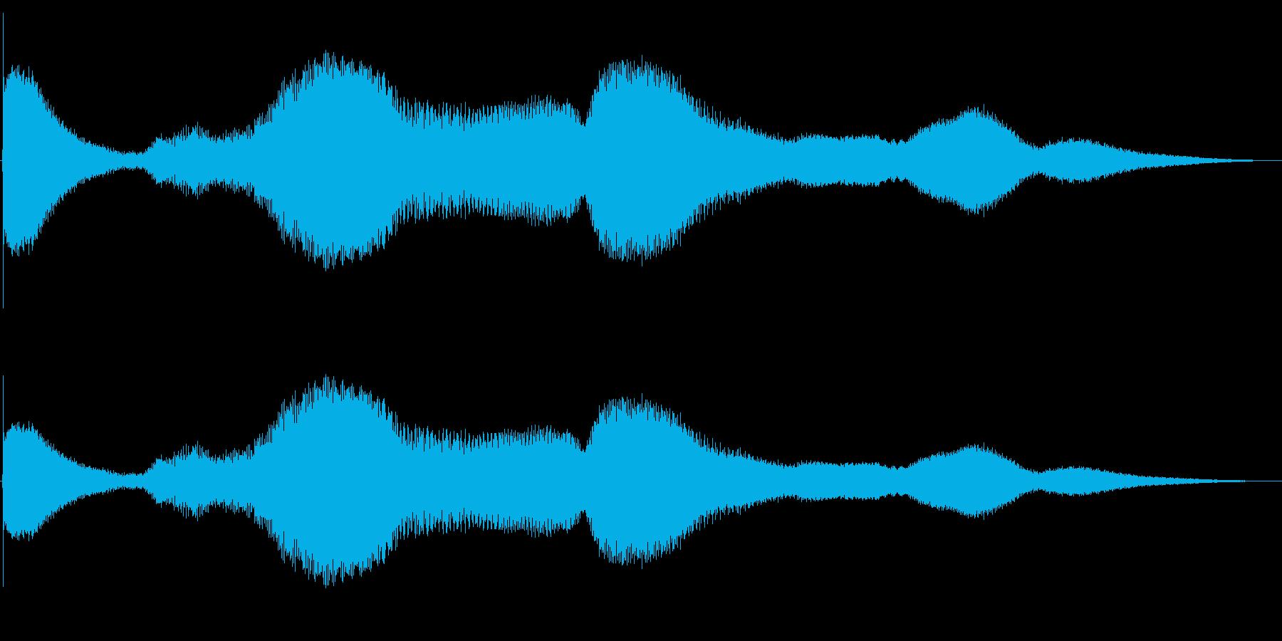 ベルヒットアンドライズ2の再生済みの波形