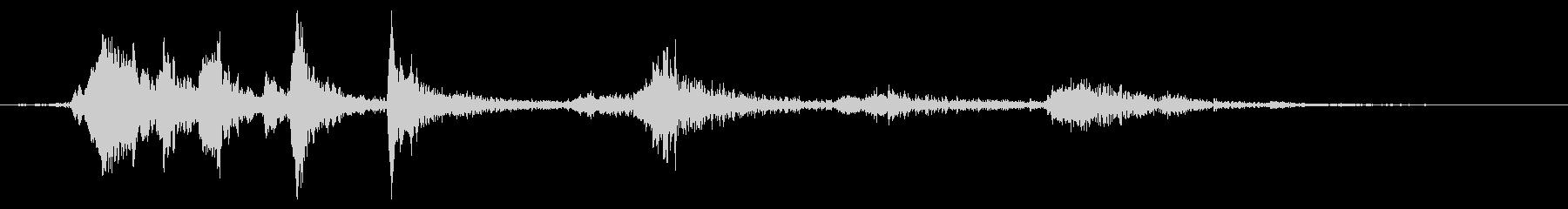 メタル ゲートクローズロング01の未再生の波形