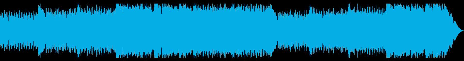 新しい朝を感じるBGMの再生済みの波形