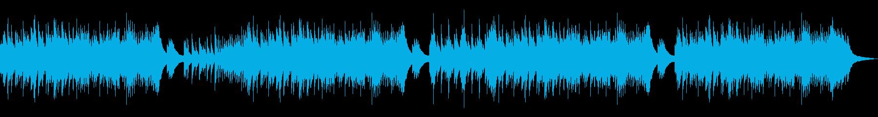 ノスタルジックで和風。優しいピアノBGMの再生済みの波形