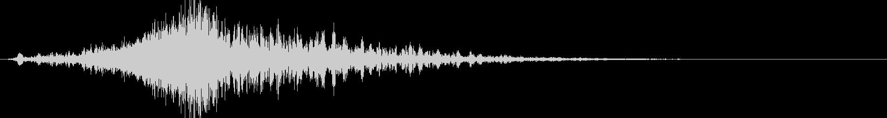 ヒューン:ワープする音/時飛ばしの未再生の波形