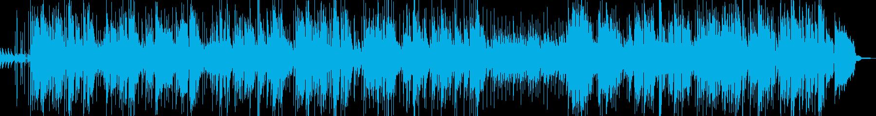 ポップでメロディアスなバースデーソングの再生済みの波形