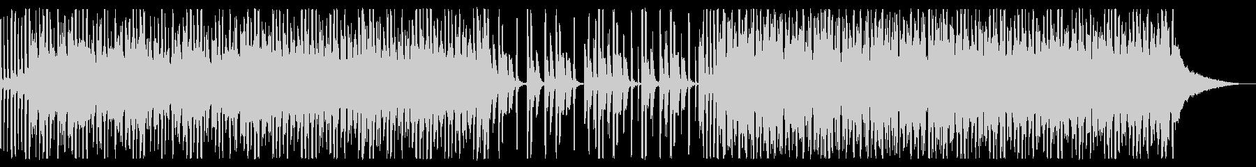 未来を感じる80年代エレクトロ_2の未再生の波形