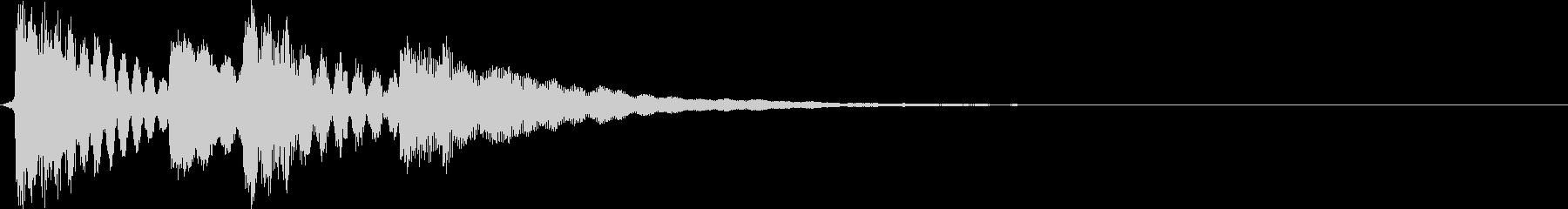 ポンポポンポン(ロゴ、ゲームオーバー)の未再生の波形