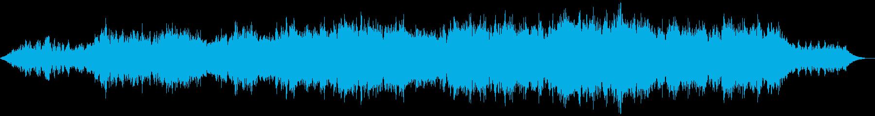 【ダークアンビエント】壊滅都市の再生済みの波形