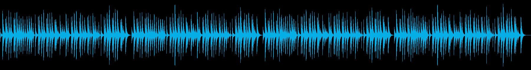 蛍の光 18弁オルゴールの再生済みの波形