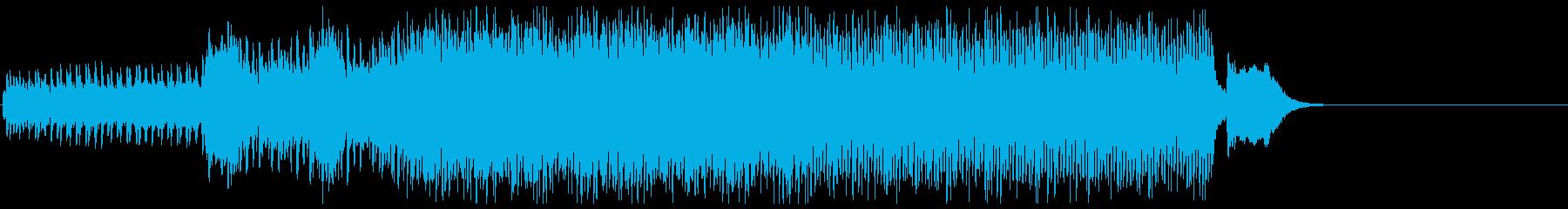脱出せよ!急がないと爆発するピアノBGMの再生済みの波形