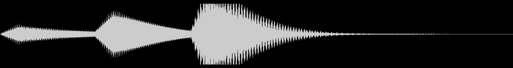 コンピューター、タブレット、または...の未再生の波形