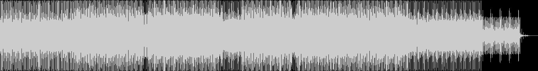 ドローンアンビエントなミニマルハウスの未再生の波形