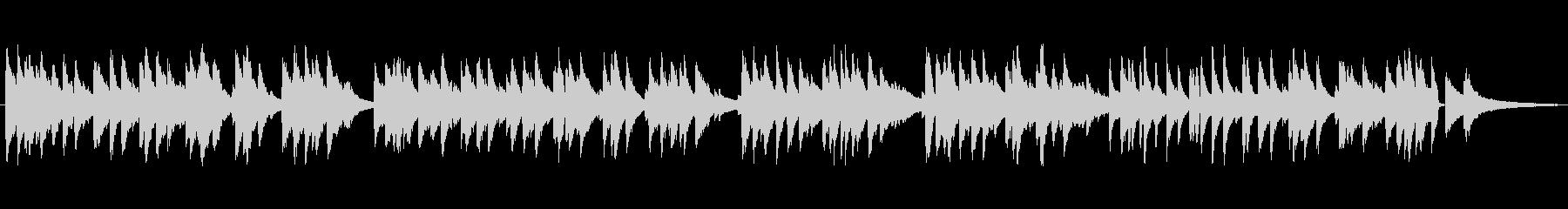 ゆっくりめジャズ風ラウンジピアノソロの未再生の波形