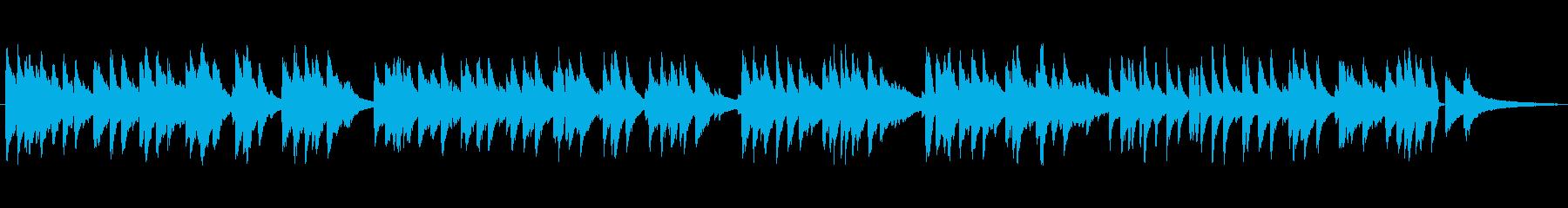 ゆっくりめジャズ風ラウンジピアノソロの再生済みの波形