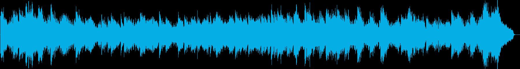 ショパンのエチュード Op10 No1の再生済みの波形