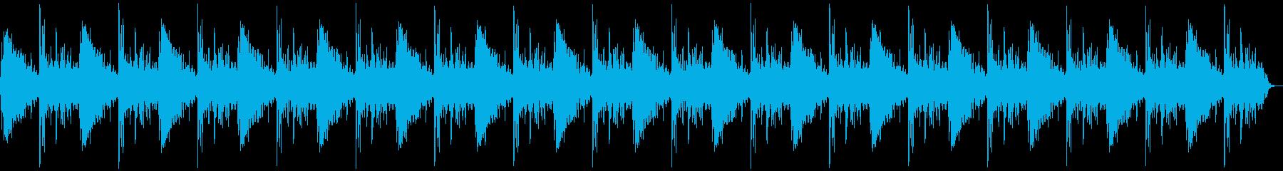 ドン、バーン(爆発)+カウントの再生済みの波形