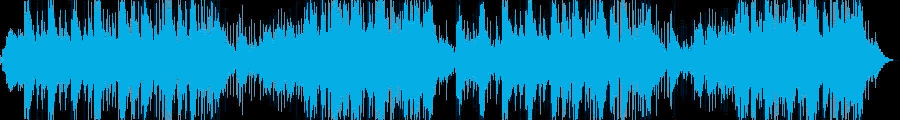 フュージョン 感情的 説明的 静か...の再生済みの波形