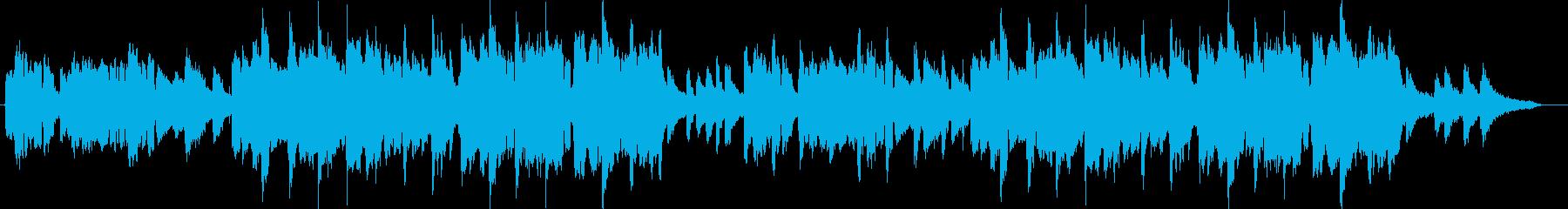 不可思議な笛の再生済みの波形