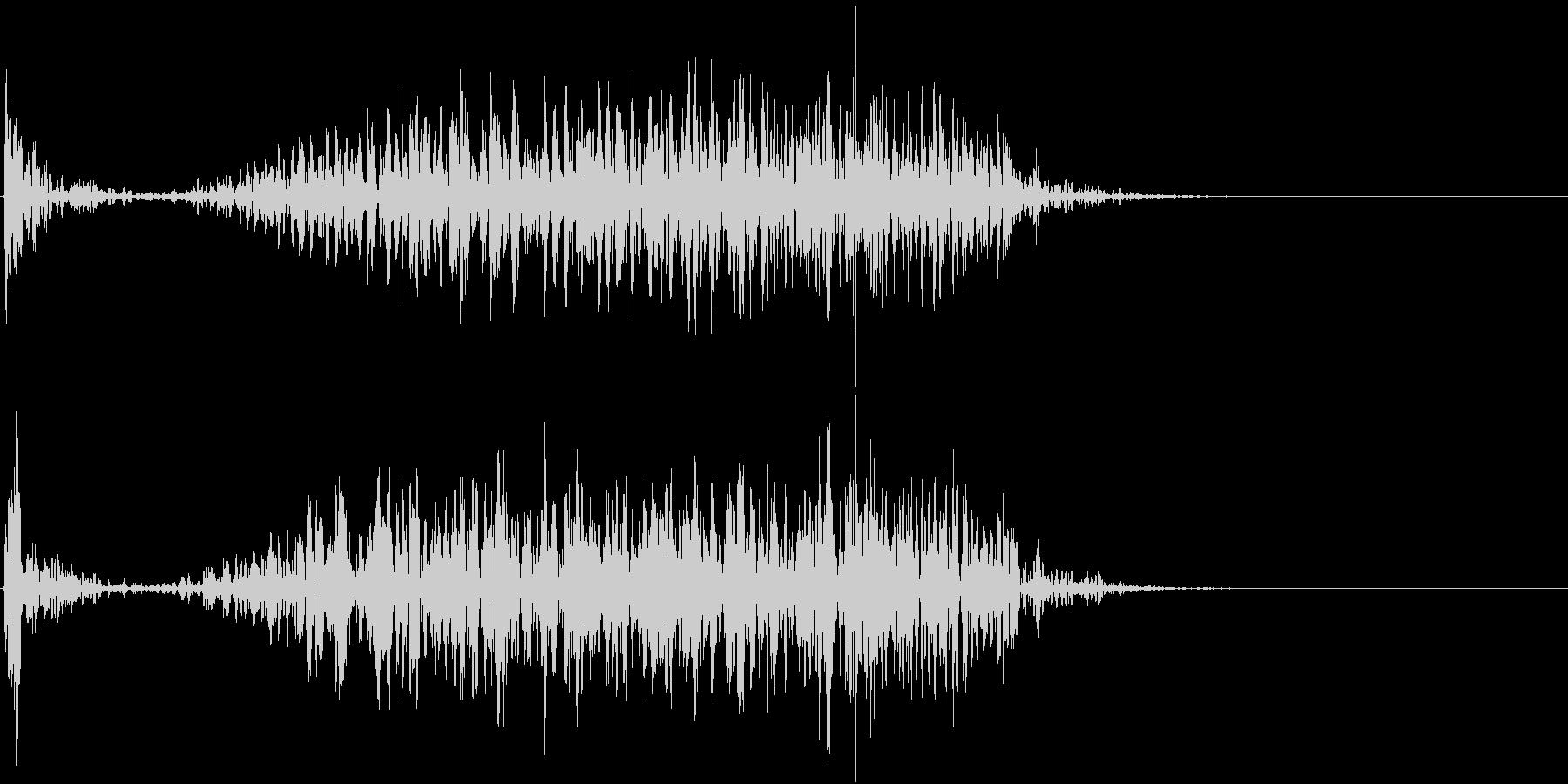 【生録音】テーブルを引っ掻く音 3の未再生の波形