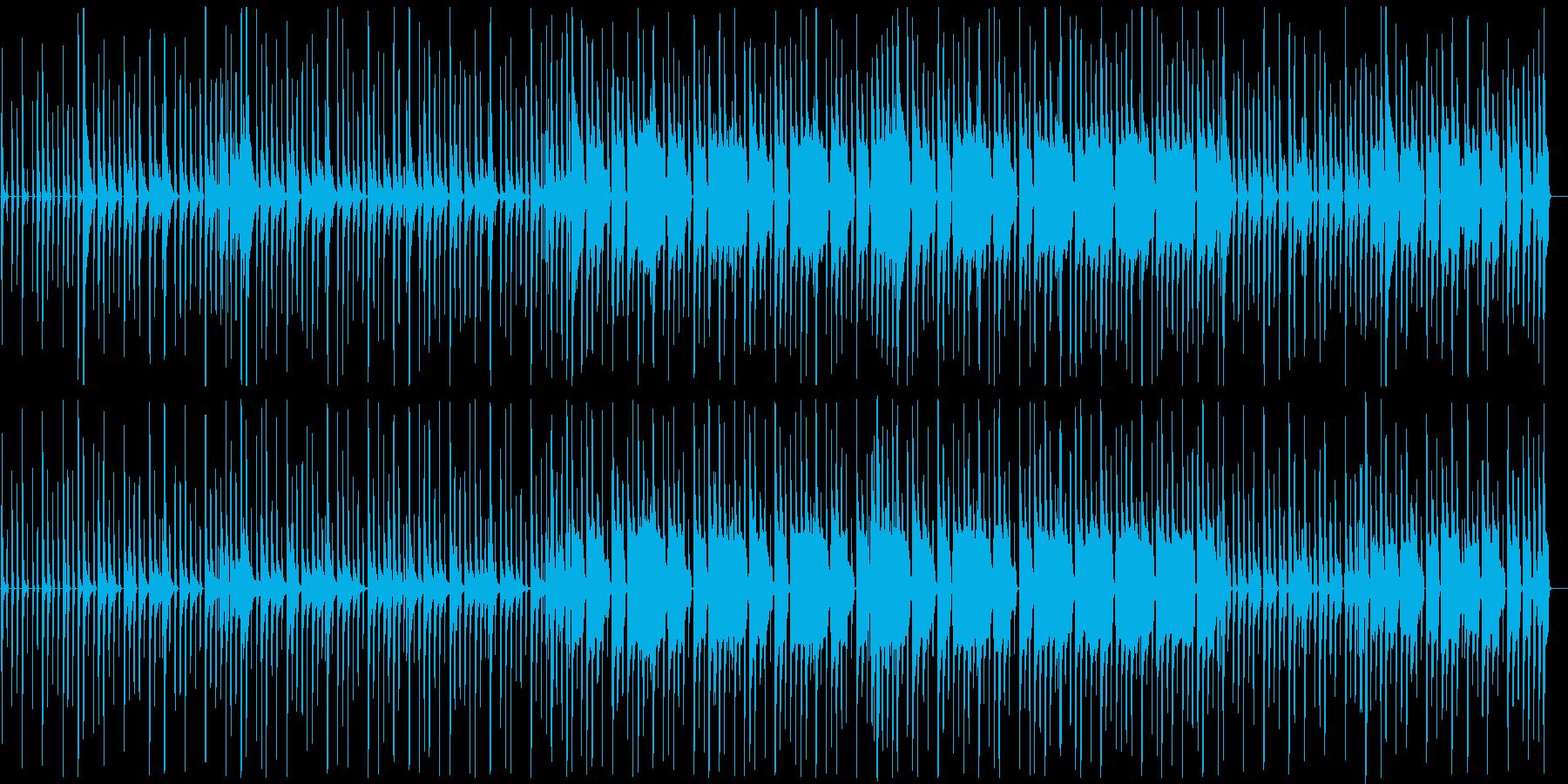 【キッズ動画向け】可愛くて楽しいポップスの再生済みの波形