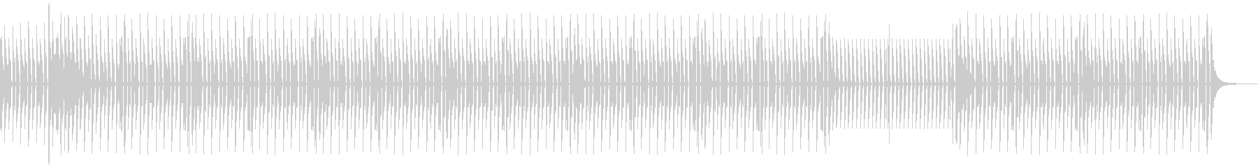 News5 ドラムのみバージョンの未再生の波形