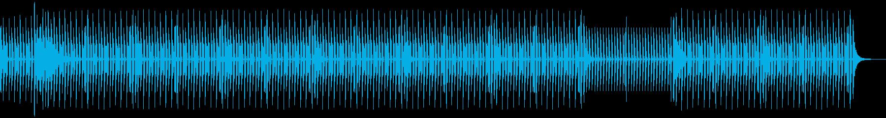 News5 ドラムのみバージョンの再生済みの波形