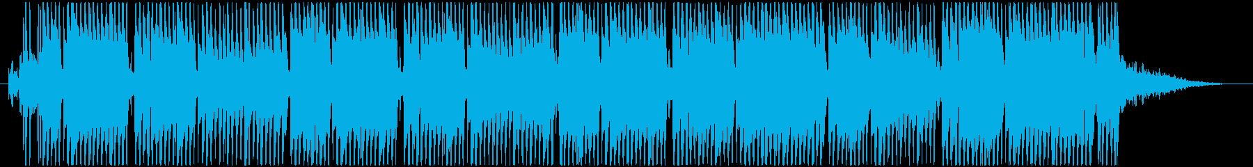 ポップなKawaiiFutureBassの再生済みの波形