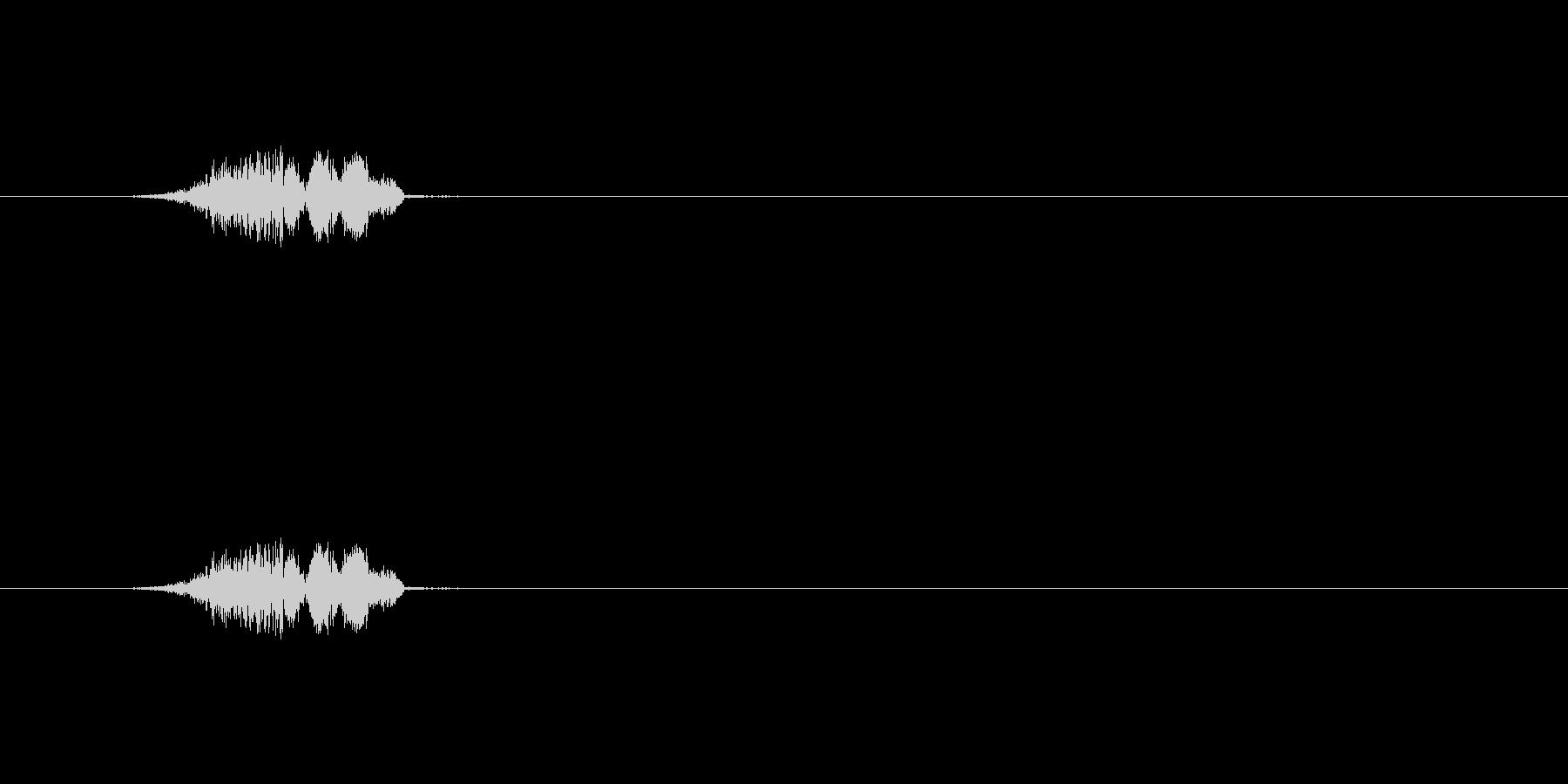 【ポップモーション40-1】の未再生の波形