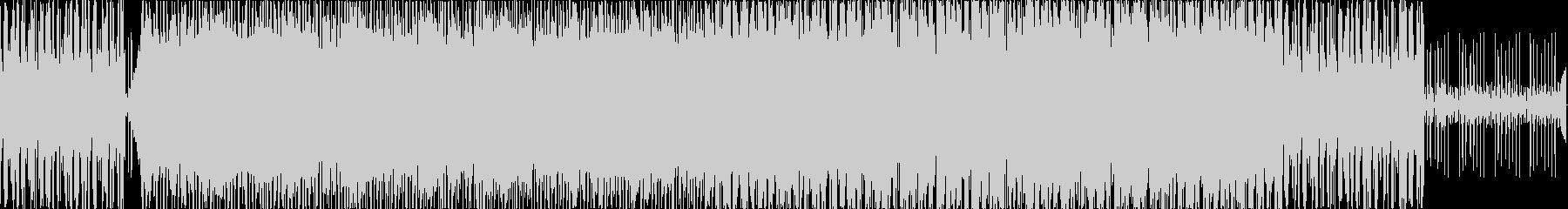 お洒落・ポジティブ・シンプルなBGMの未再生の波形