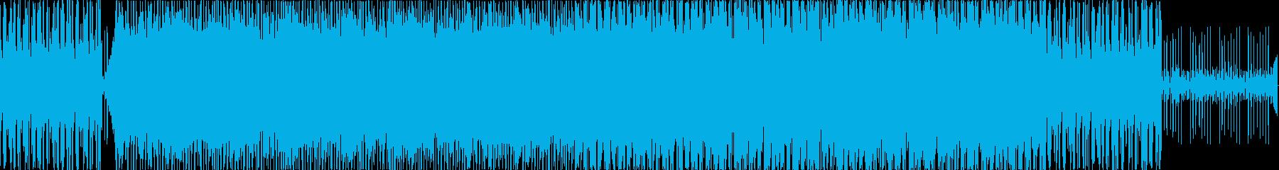 お洒落・ポジティブ・シンプルなBGMの再生済みの波形