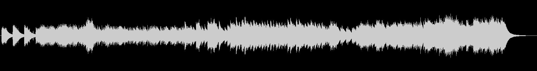 メローでメロディアスなオルゴールサウンドの未再生の波形
