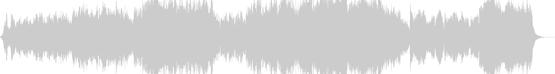 オーケストラ映画のインストゥルメン...の未再生の波形