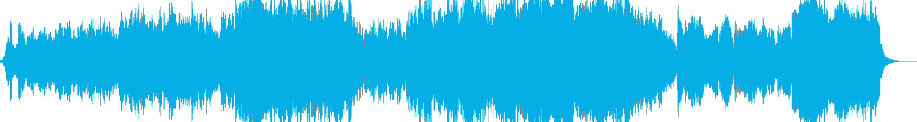 オーケストラ映画のインストゥルメン...の再生済みの波形