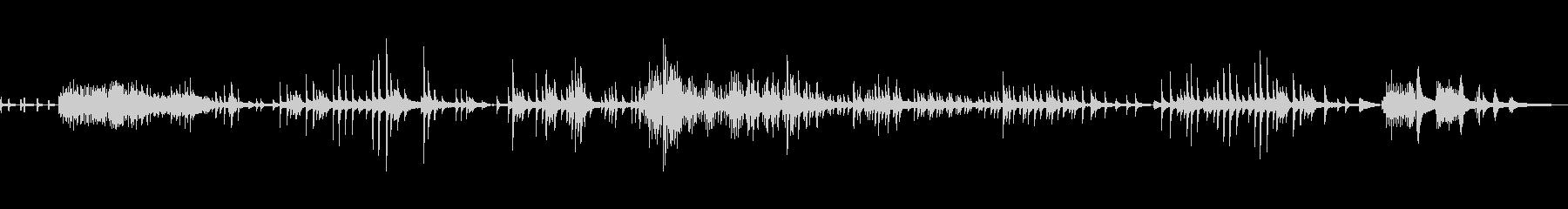 ピアノ組曲ラヴェル (鏡) 5. 鐘の谷の未再生の波形