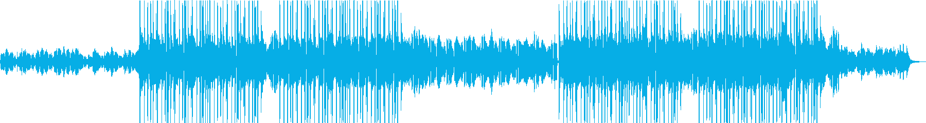 大人でチル・ブルージーLoFiなBGMの再生済みの波形