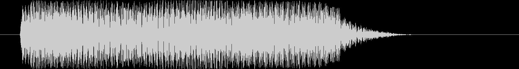打撃 シンセトレーラーヒット04の未再生の波形