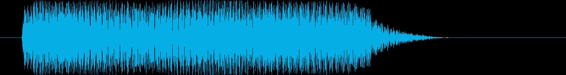 打撃 シンセトレーラーヒット04の再生済みの波形