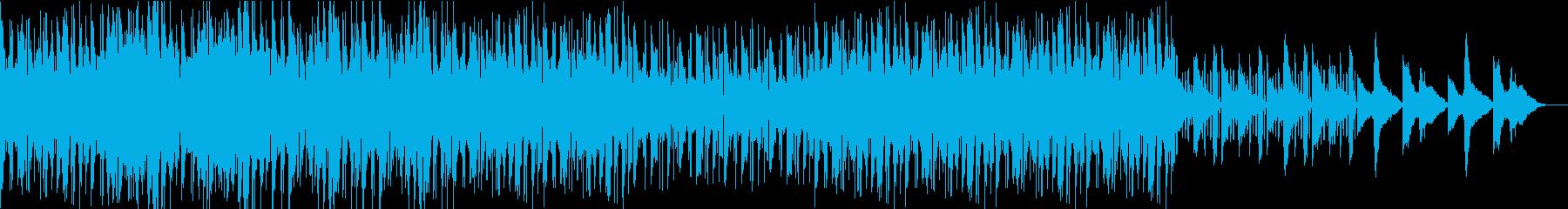 ボイパに乗るオシャレでジャジーなBGMの再生済みの波形