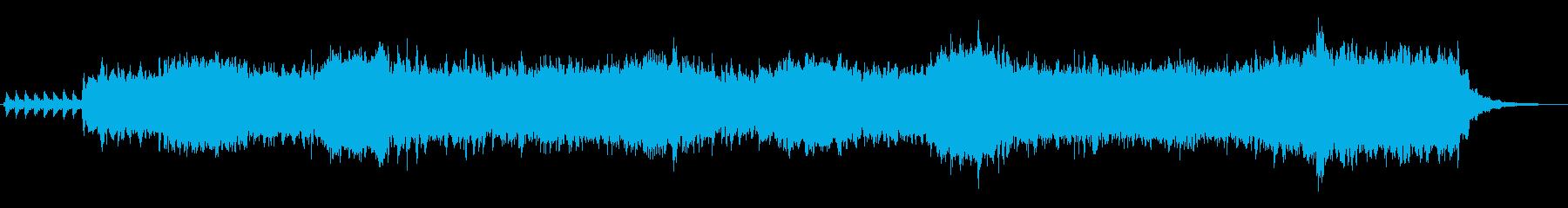 クリスマス風のスレイベルジングルの再生済みの波形