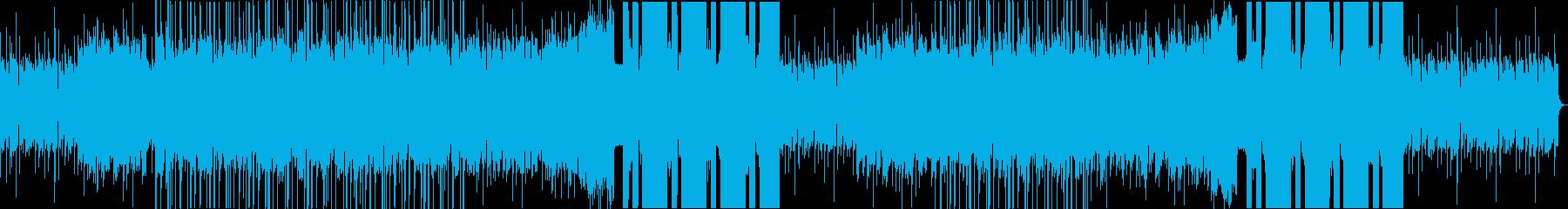 少しポジティブなチル系EDMですの再生済みの波形