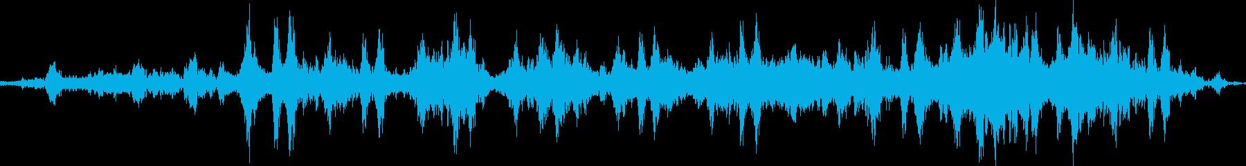 クジラの歌のプロトタイプの再生済みの波形