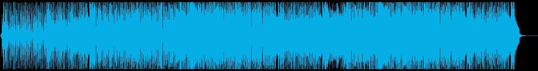 可愛らしいダンスポップ5 フル歌の再生済みの波形