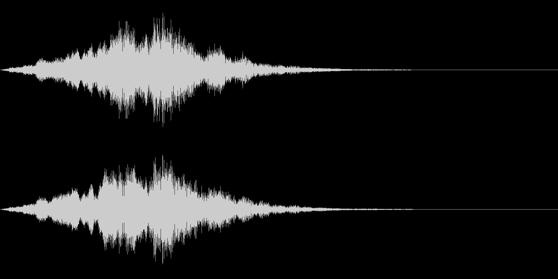 映画・映像用サウンドロゴ005の未再生の波形