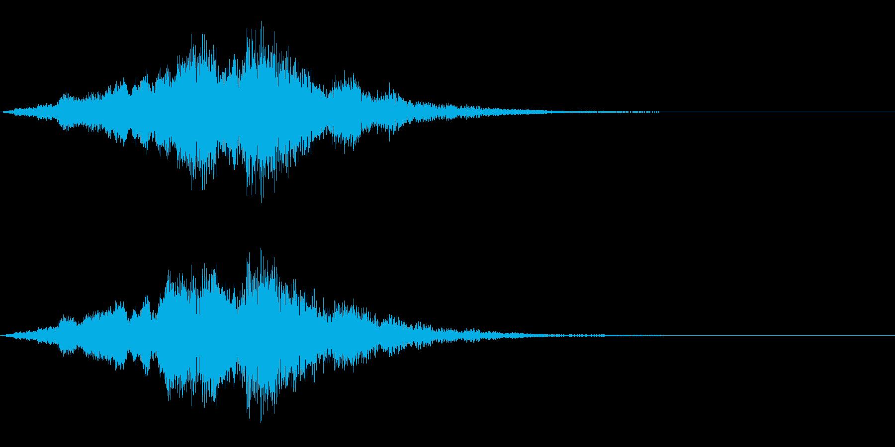 映画・映像用サウンドロゴ005の再生済みの波形