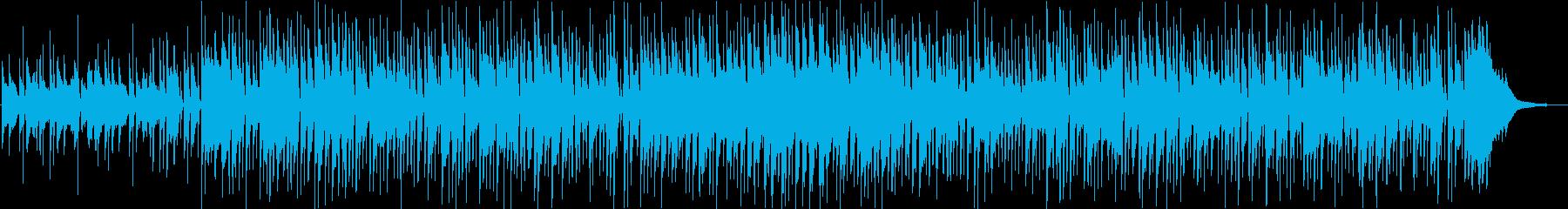 穏やかな雰囲気のボサノバ/メロ抜きverの再生済みの波形