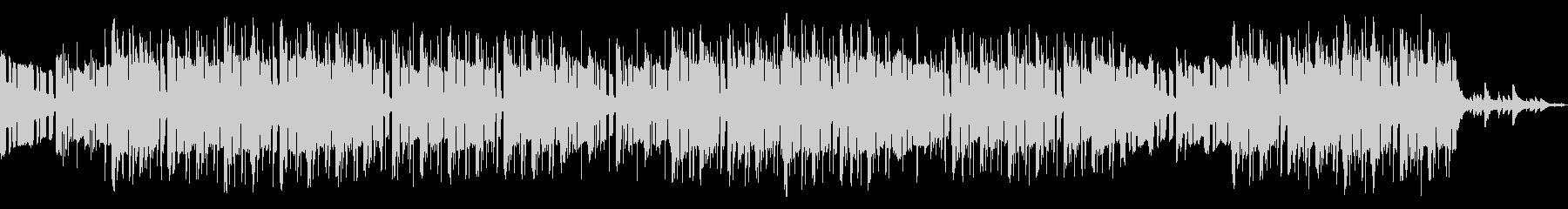 お洒落なローファイピアノヒップホップの未再生の波形