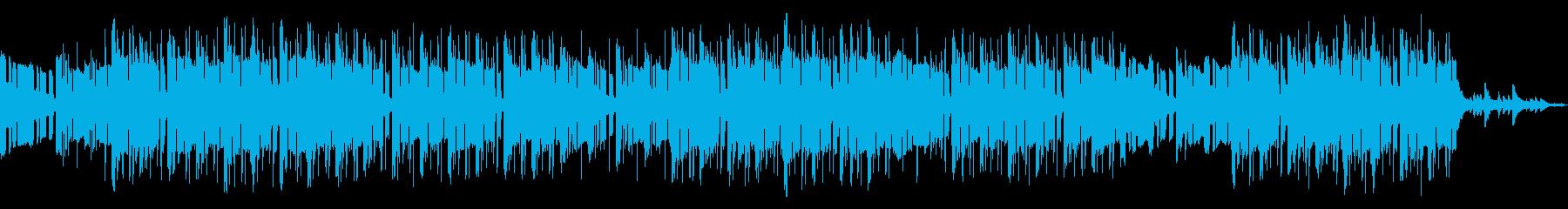 お洒落なローファイピアノヒップホップの再生済みの波形
