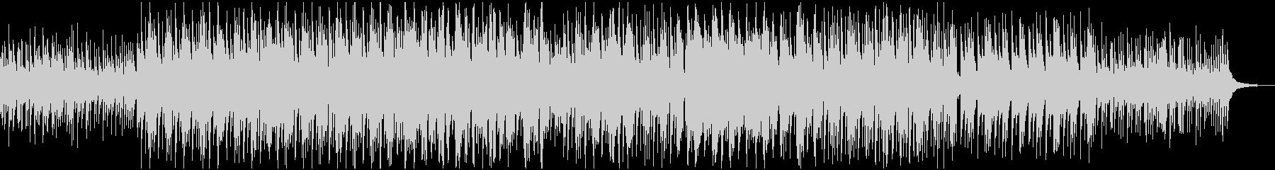 切ない綺麗なピアノのBGMの未再生の波形