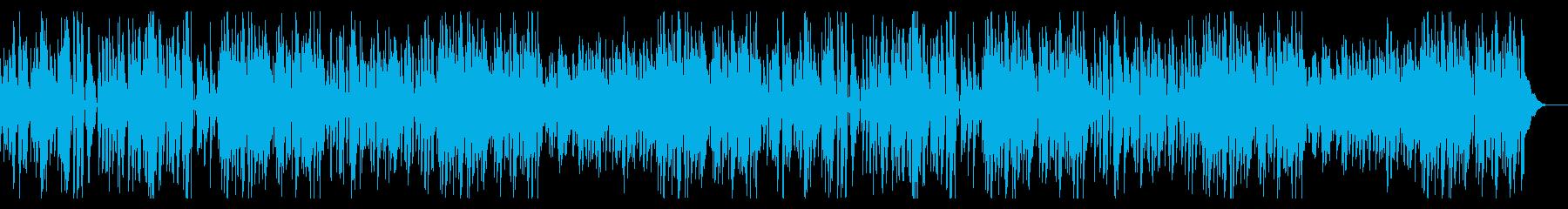 かえるのストリングの再生済みの波形