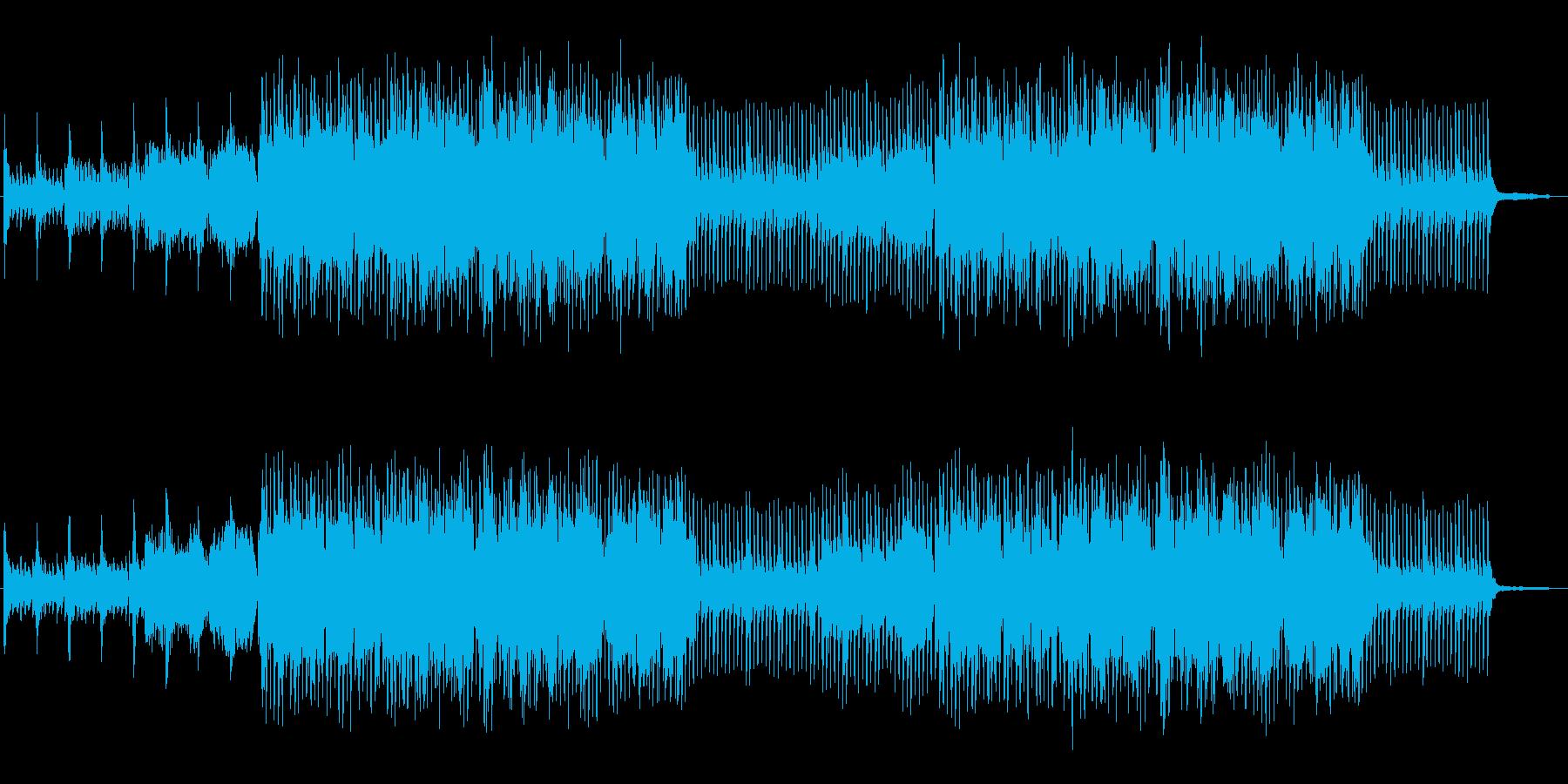 明るく、爽快、前向きなトランペット生演奏の再生済みの波形