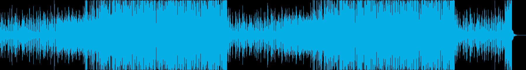 チルアウトおしゃれなトロピカルハウスaの再生済みの波形