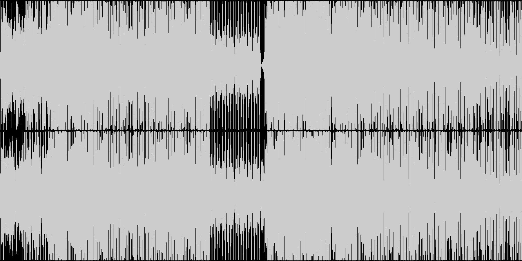 EDM トロピカル レゲエ 哀愁 RAPの未再生の波形